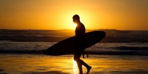 Gisborne surfer